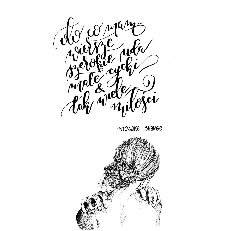 rysunek odręczny piórkiem i tuszem, Anna Pryć-Futkowska
