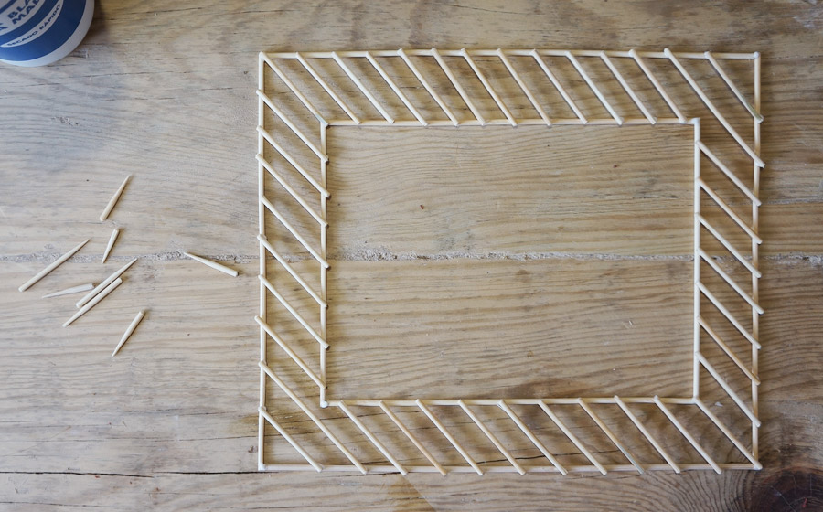 Marcos de fotos con palitos de bambú · CATAdiy · - Hay un trasto en ...
