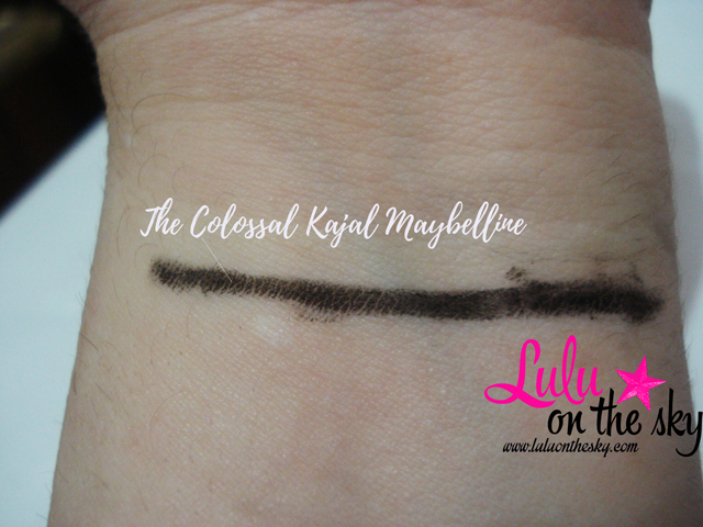 The Colossal Kajal Maybelline: eu testei - blogluluonthesky