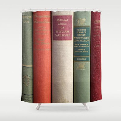 Books Shower Curtain