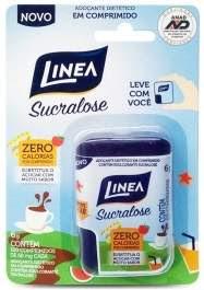 Novo Adoçante Linea Em Comprimidos Stevia e Sucralose Lançamento 2018