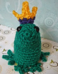 http://www.ravelry.com/patterns/library/rodney-the-frog-prince