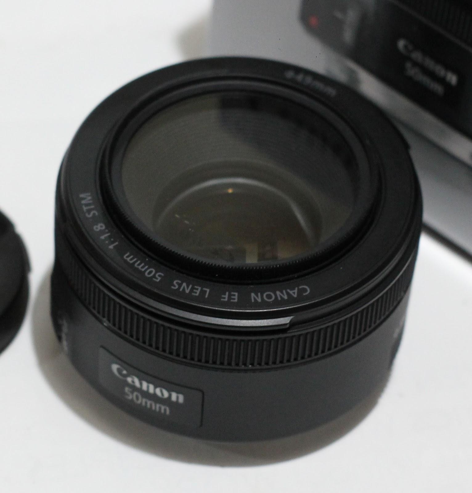 Jual Lensa Canon Ef 50mm F 18 Stm Fullset Beli Laptop Bekas