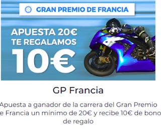 Paston Apuestas MotoGP: Te regalamos 10€ 20 mayo