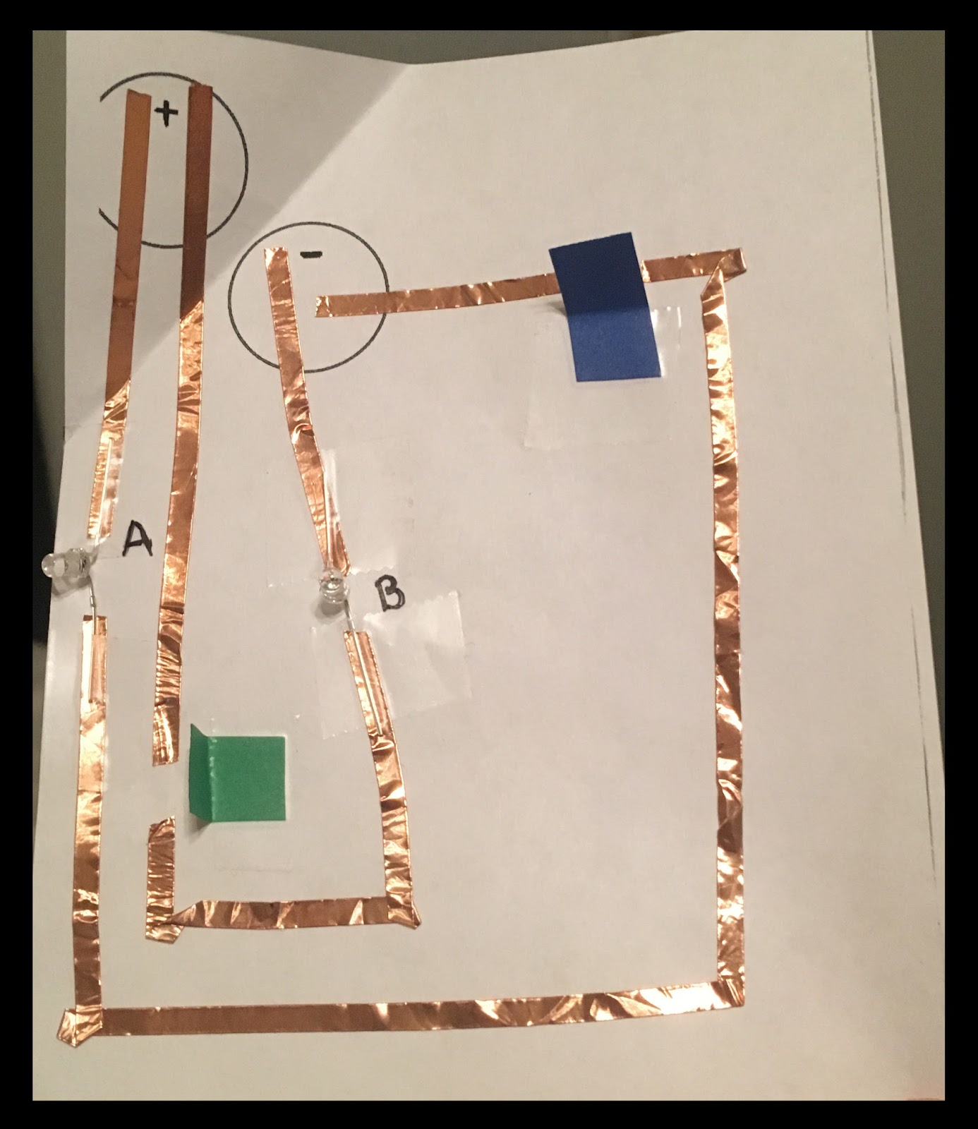 Tech Happy Classroom Electronics Fun With Paper Circuits Circuit Vs Parallel For Kids Using The Above As An My Goal Is To Recruit 4th Grade Teachers Try Their Students Next Year Click Here Download 5e Model Lesson Plan I Used