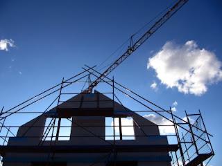 Neubauten übertreffen die Anforderungen der Energieeinsparverordnung