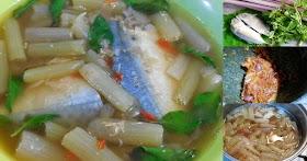ชวนทำแกงสายบัวใส่ปลาทูนึ่ง อาหารไทยโบราณ อร่อยมากๆ