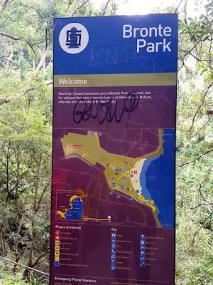Bronte Park at Sydney Australia