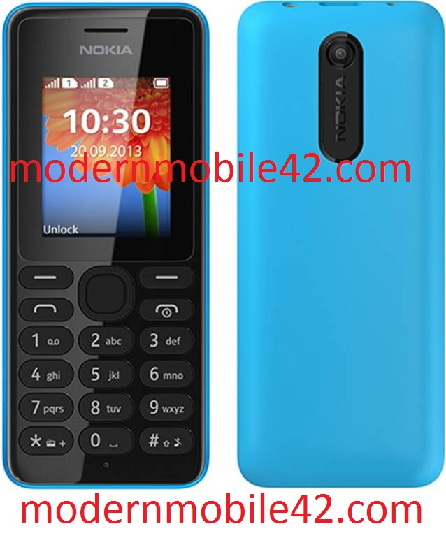 Nokia 108 MT6250 Firmware Flash File 100% Tested Download