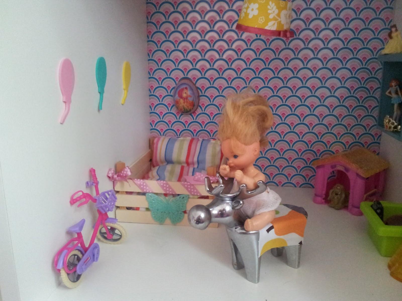 Der Bastelblog: Das Barbie-Puppenhaus