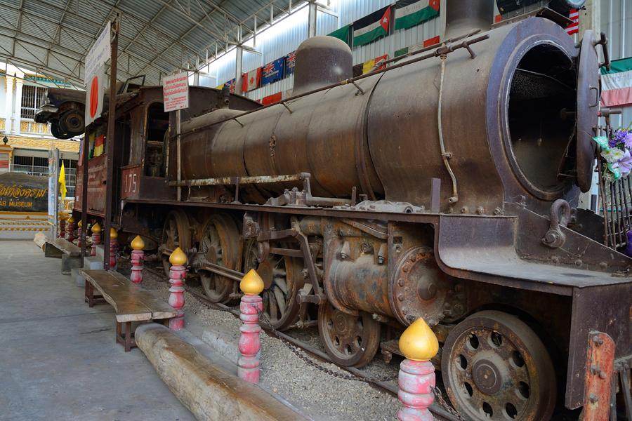 Muzeum Kolei Tajsko-Birmańskiej w Kanchanaburi