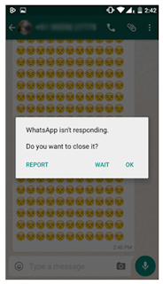 Whatsapp tips and tricks not responding