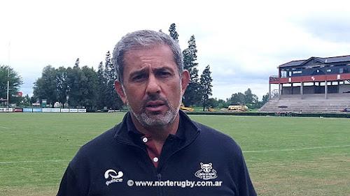 Carlos Martearena, Presidente de la Union de Rugby de Salta.