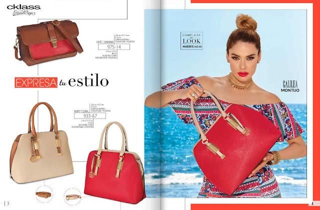 Bolsas de moda y carteras Cklass  : primavera verano 2017