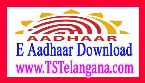 Aadhaar Card Free Download All India and Telangana Aadhaar Cards