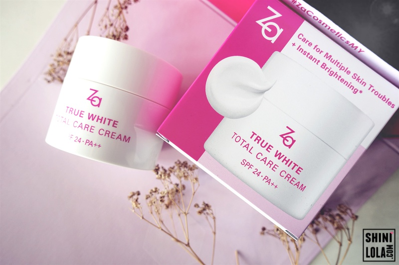 Za True White Total Care Cream SPF24 PA++