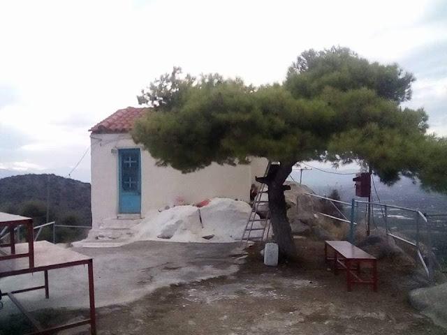 Ασίνη: Εθελοντικός καθαρισμός στον λόφο του Προφήτη Ηλία