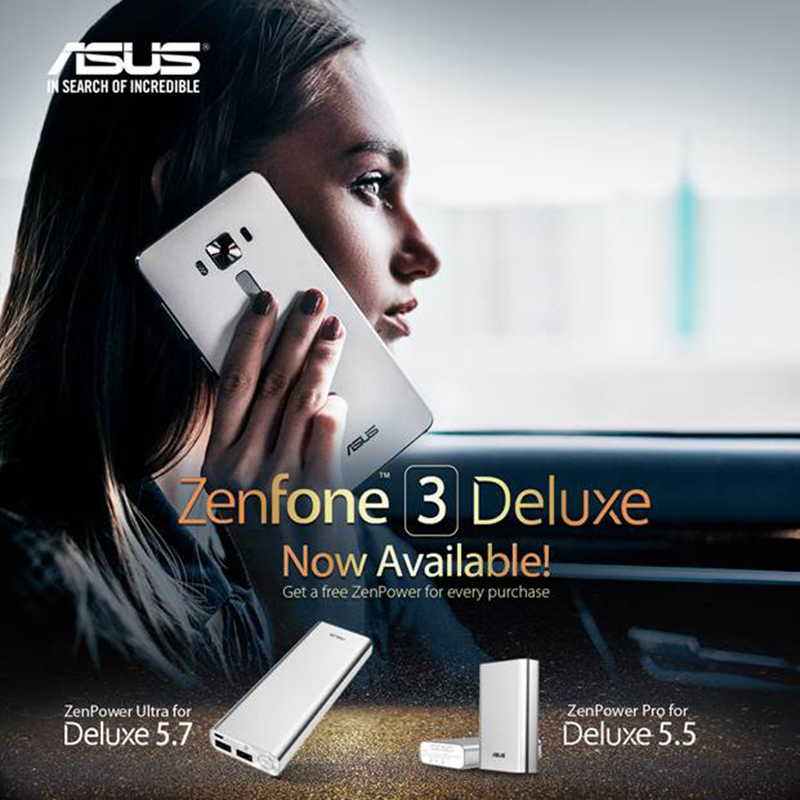 Asus ZenFone 3 Deluxe 5.5 and 5.7 inch now available in PH!