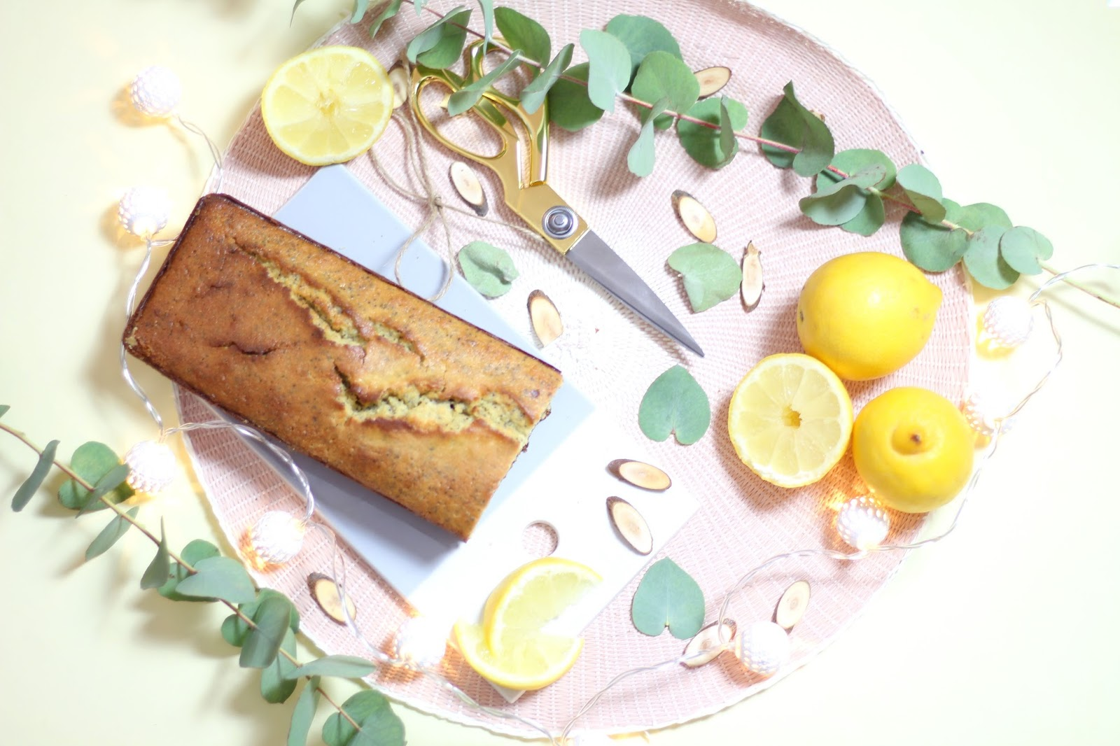 lemon poppy cake recipe