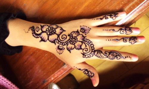 cara menghilangkan henna
