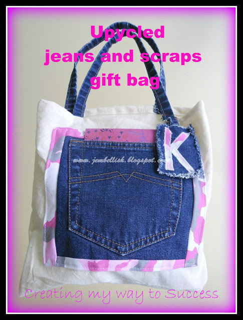 Gift bag With Jeans pocket