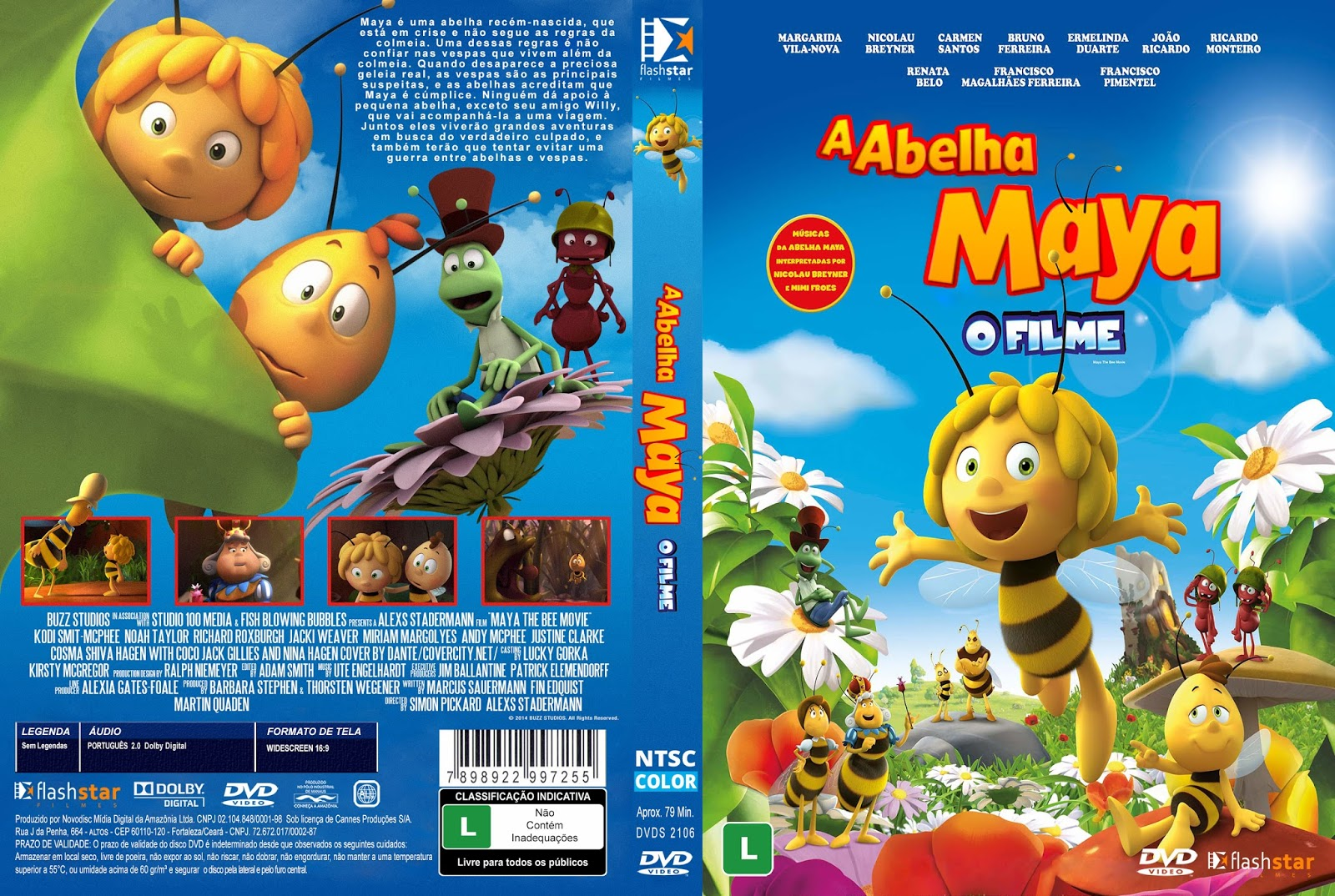 Download A Abelha Maya O Filme DVD-R