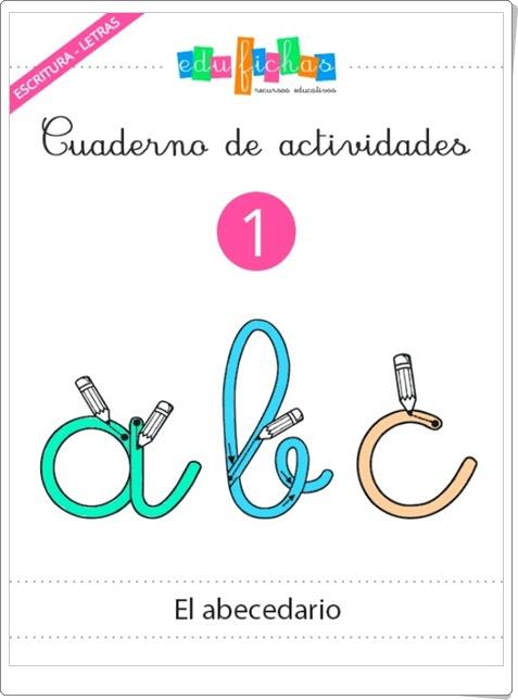 """Cuaderno de actividades 1 """"El abecedario"""""""