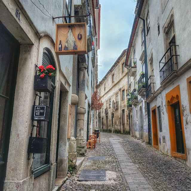 Winding streets of Coimbra, Portugal, photo credit: Lindsey Viscomi