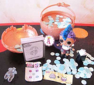 Лол мальчик очень редкая игрушка LOL Surprise Confetti Pop 3 серия