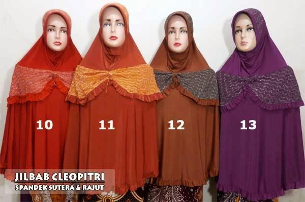 Model-jilbab-syar'i-terbaru-kombinasi-rajut-cleopitri
