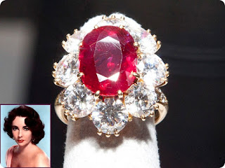 Elizabeth Taylor's Ruby and Diamond Ring