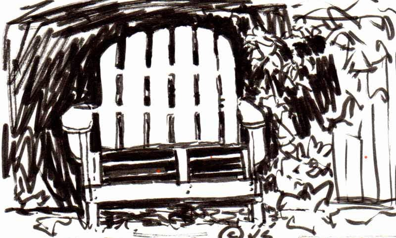 KaySmithBrushworks: Sit for a Spell Adirondack Chair