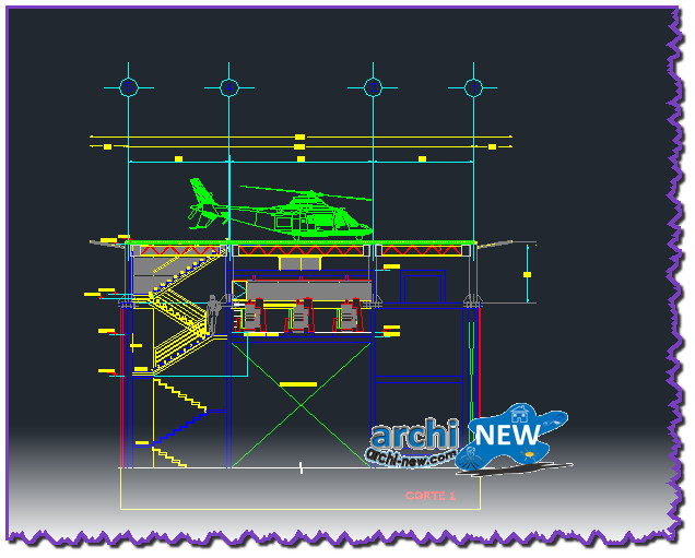 En Download Autocad Dwg 2d File To Heliport Heliport