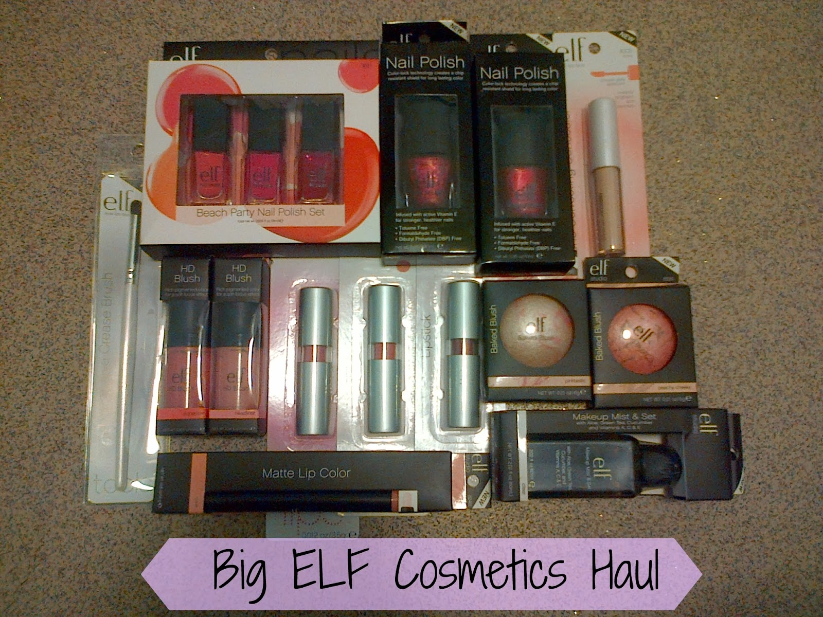 ELF Cosmetics Haul