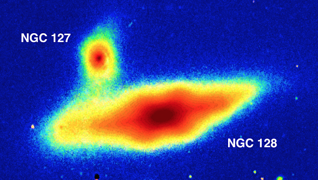 Astronomers use new imaging software to detect double 'peanut shell' galaxy