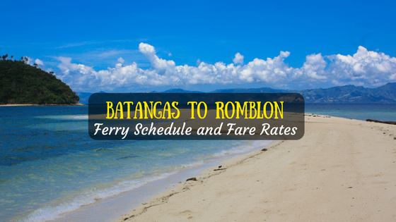 Batangas to Romblon ferry schedule