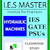 [GATE MATERIAL] IES MASTER Hydraulic Machines Study Material for GATE PSU IES GOVT EXAMS Free Download PDF www.CivilEnggForAll.com