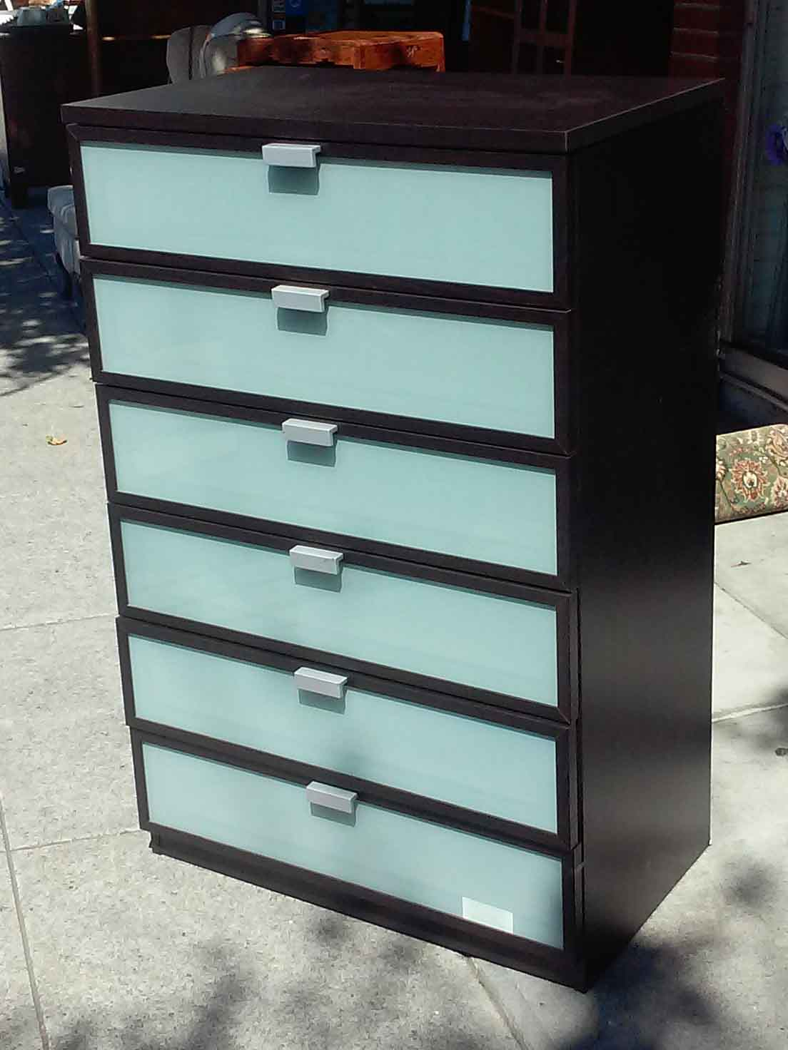 Uhuru Furniture Amp Collectibles Sold Ikea Hopen 6 Drawer