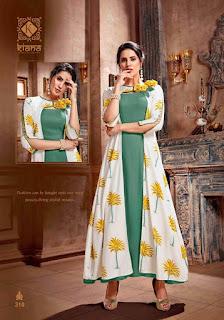 Kiana vintage vol 3 Party wear Gown kurtis wholesaler. Buy Amazon, instagram, Twiiter and Facebook kiana Vintage 3 kurtis