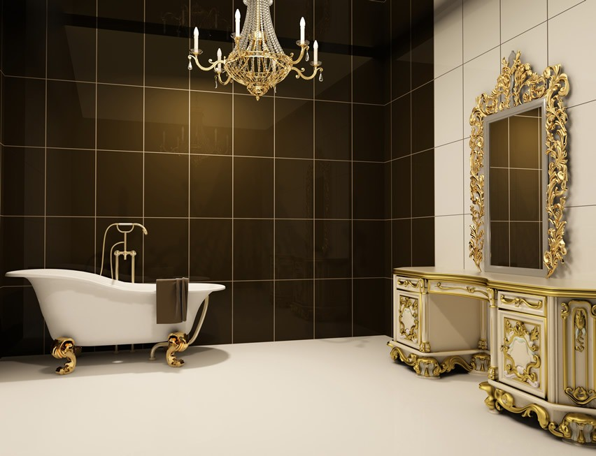 59+ Luxury Custom Bathroom Designs & Tile Ideas
