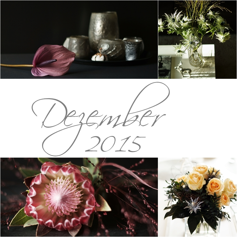 Blog + Fotografie by it's me! - Collage Friday Flowerday - Dezember 2015