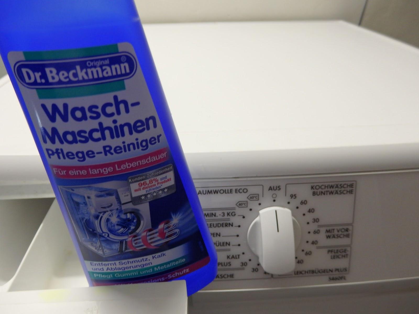dr beckmann wasch maschinen pflege reiniger. Black Bedroom Furniture Sets. Home Design Ideas