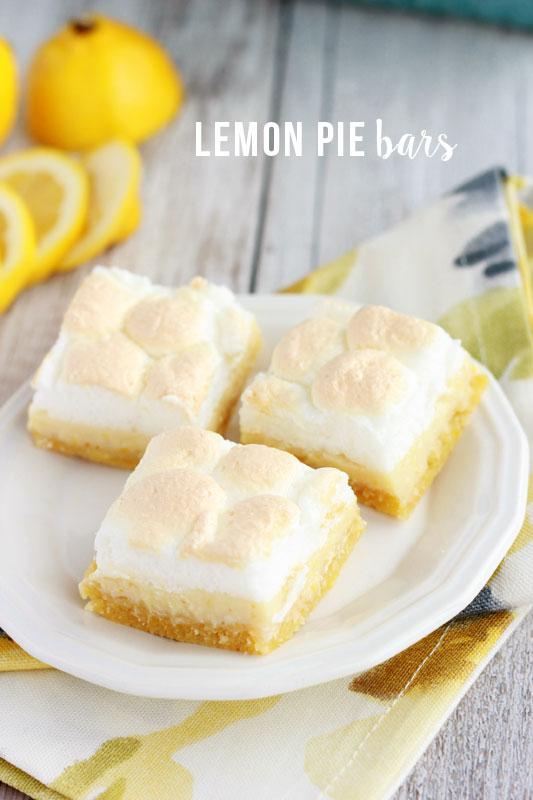 Lemon Pie Bar