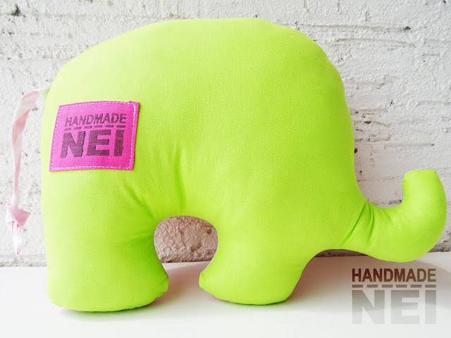 "Handmade Nel: Играчка слонче ""Елия"""