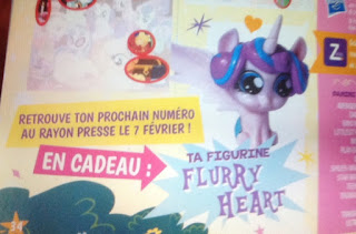 Baby Flurry Heart Magazine Figure Coming February 2017