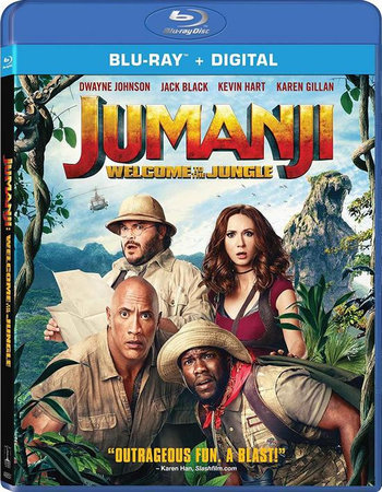 Jumanji: Welcome to the Jungle (2017) Dual Audio Hindi 720p BluRay x264 1GB Full Movie Download
