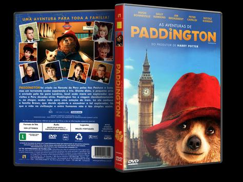 Capa DVD As Aventuras de Paddington