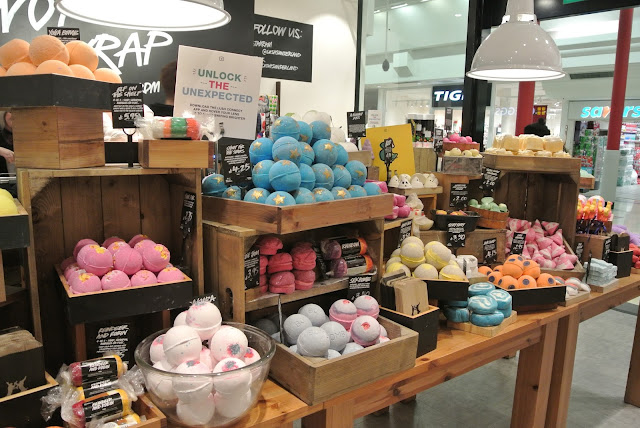 Lush in The Bridges Sunderland Christmas Gifts 2016