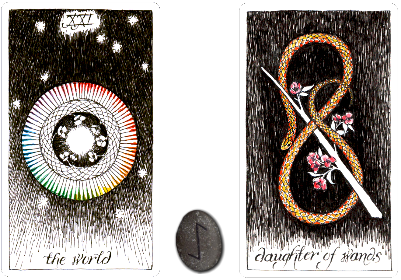 Metaphysical Temperance Tarot Card Metal Sign Fortune