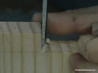 Limpiar y ajustar los cortes verticales. http://www.enredandonogaraxe.com